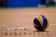 バレーボール~引退~の画像(プリ画像)