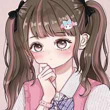 サムネ アイコン 地雷 量産 美少女 女の子 イラストの画像(顔写真に関連した画像)