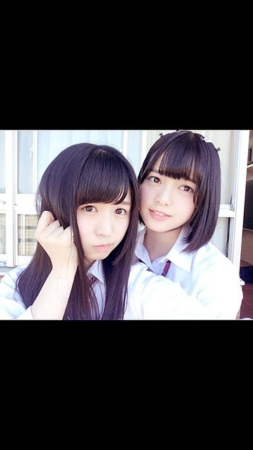 欅坂46 てち&ねるの画像(プリ画像)
