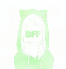 BFF@猫耳の画像(#猫耳に関連した画像)