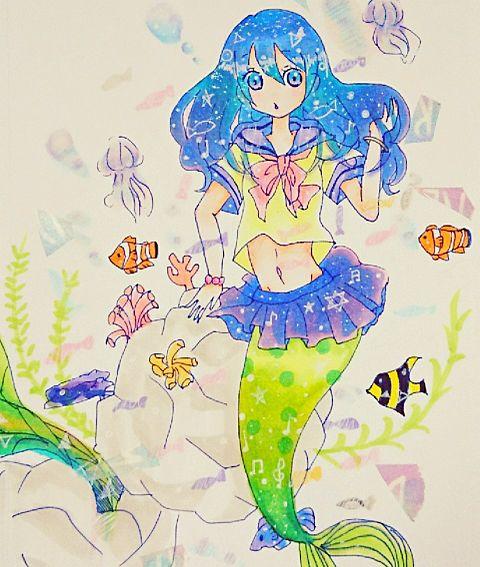 人魚ちゃんの画像(プリ画像)