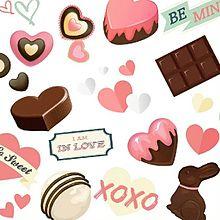 背景素材 チョコレートの画像(プリ画像)