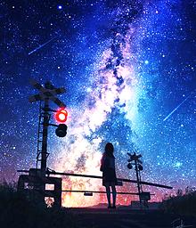 夜の街 プリ画像