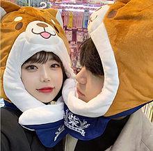 日韓カップルの画像(メイクに関連した画像)