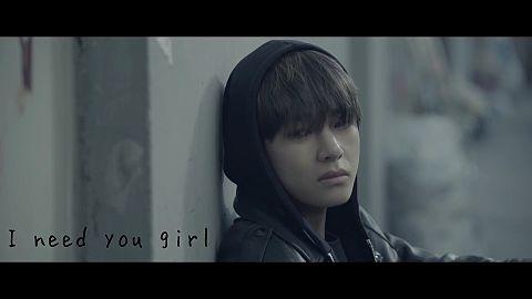 i need you girlの画像(プリ画像)