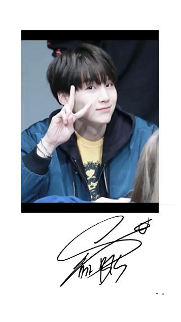 メンバー別サインの画像(プリ画像)