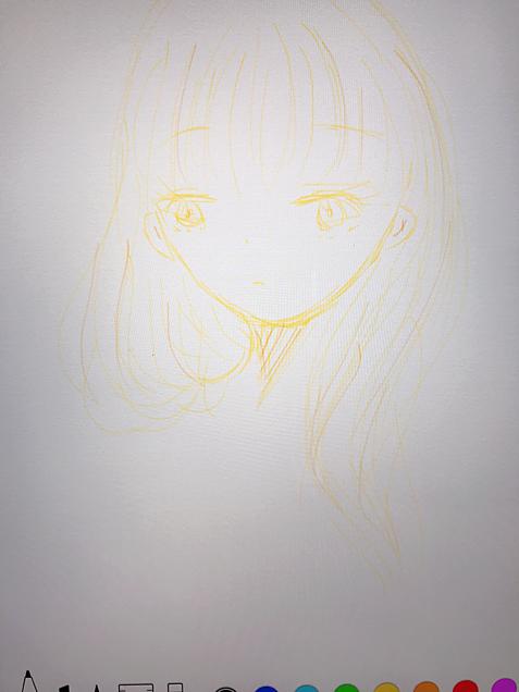 yellow girlの画像(プリ画像)