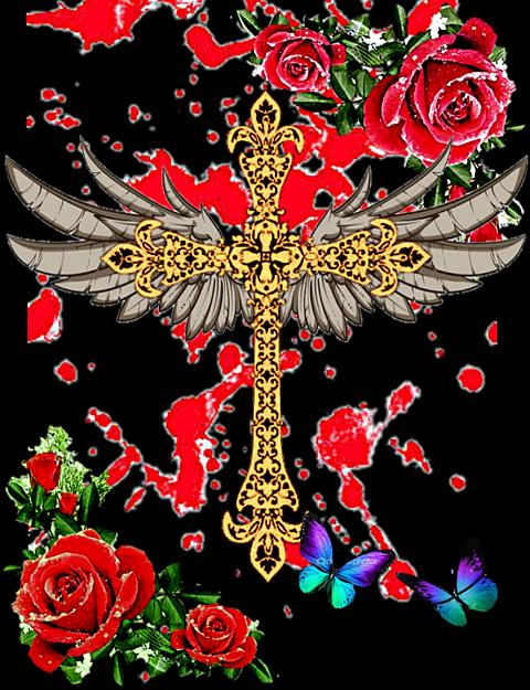 十字架 作ってみたの画像(プリ画像)
