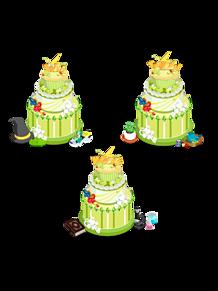 Switch ケーキ¦背景透過⚡️の画像(夏目に関連した画像)