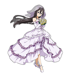 SAO素材(ウエディングドレス)の画像(プリ画像)