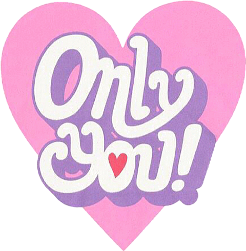 Only you!の画像(プリ画像)