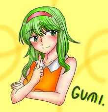 GUMI(デジタルに起こして再彩色)の画像(GUMIに関連した画像)