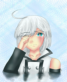 泣きピコ プリ画像