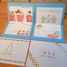クリスマスカード プリ画像