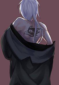 白鴉の背 プリ画像