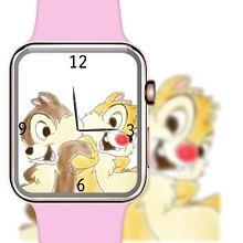 チップとデールで腕時計加工してみた(öᴗ<๑)の画像(デールに関連した画像)