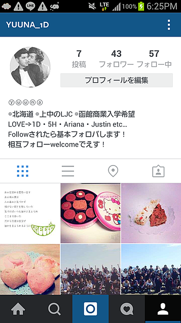 Instagramフォローして!の画像(プリ画像)