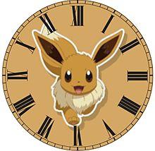 イーブイで時計加工してみた(öᴗ<๑)の画像(イーブイに関連した画像)