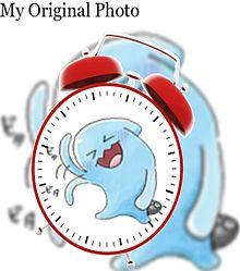 ソーナンスで目覚まし時計加工してみた(öᴗ<๑)の画像(時計に関連した画像)