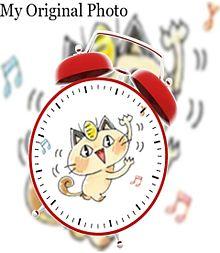 ニャースで目覚まし時計加工してみた(öᴗ<๑)の画像(時計に関連した画像)