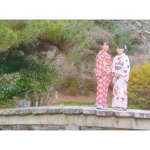 着物の画像(京都 紅葉に関連した画像)