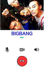 BIGBANG電話♥の画像(プリ画像)