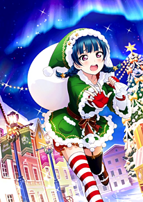 クリスマスプレゼント編 善子 ルビィの画像(ラブライブサンシャインに関連した画像)