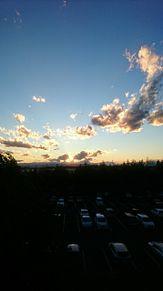 空 雲 シルエット プリ画像