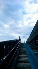 陸橋からの画像(空 風景に関連した画像)