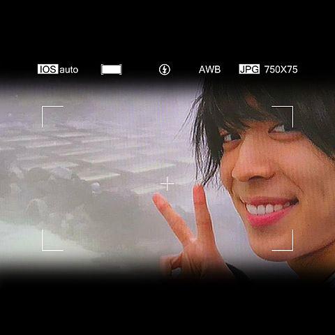 松島聡 カメラ風の画像(プリ画像)