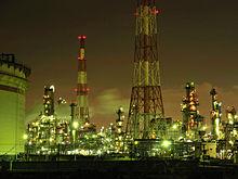 コンビナートの夜景の画像(Townに関連した画像)