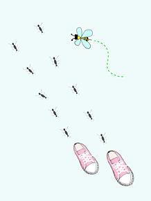 スニーカーの画像(ハチに関連した画像)