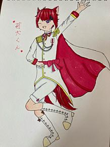 莉犬くんオリジナル王子様服の画像(自分絵に関連した画像)