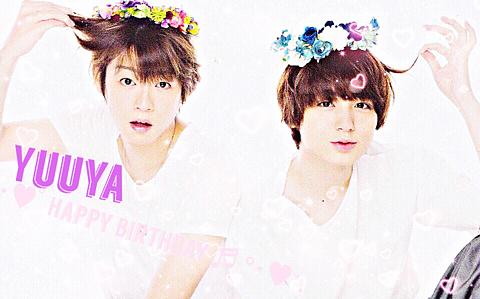 Yuuya HappyBIRTHDAYの画像(プリ画像)