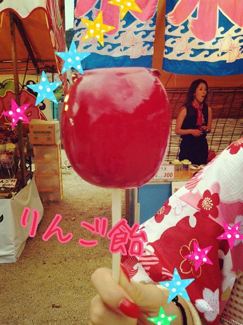 りんご飴の画像(プリ画像)