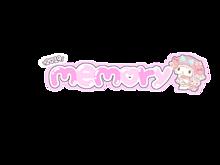 memory2-① 背景透過 素材 量産型 プリクラ文字の画像(memoryに関連した画像)