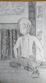 中原中也〜司書室前〜の画像(文豪とアルケミストに関連した画像)