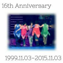 改めてHappy 16th Anniversary プリ画像