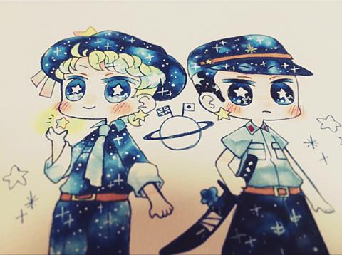 星セリアズ&星ヨノイの画像(プリ画像)