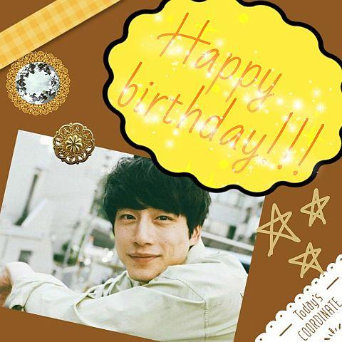 坂口健太郎Happybirthday!!!の画像 プリ画像