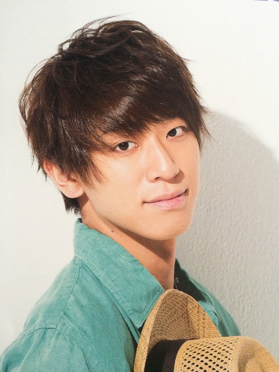 微笑む小山慶一郎