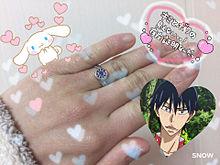 俊輔から指輪頂きました!!♡♡♡ プリ画像