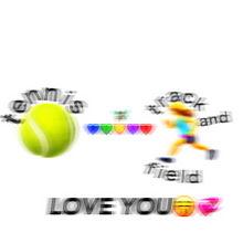 テニス部と陸上部🎾🏃♀️💞🤞 プリ画像