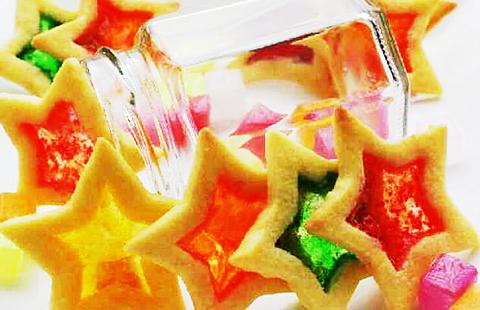 ステンドガラスクッキーの画像 プリ画像