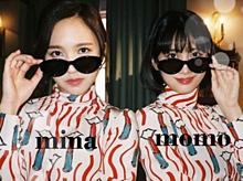 twice(mina momo) プリ画像