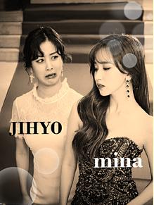 twice(mina JIHYO) プリ画像