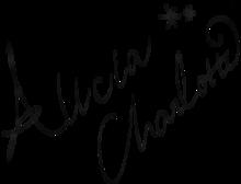 アリシア・シャーロット サインの画像((シャーロット)に関連した画像)