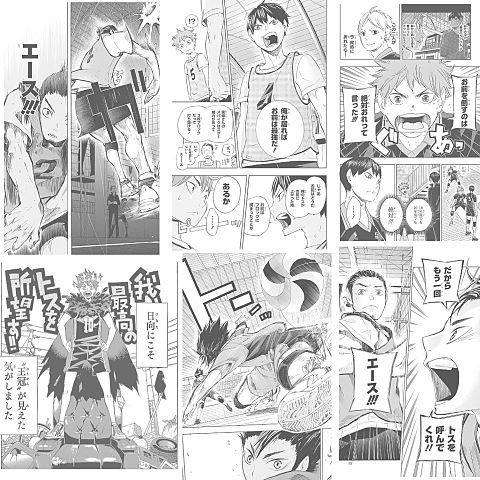 漫画版ハイキュー!の画像(プリ画像)