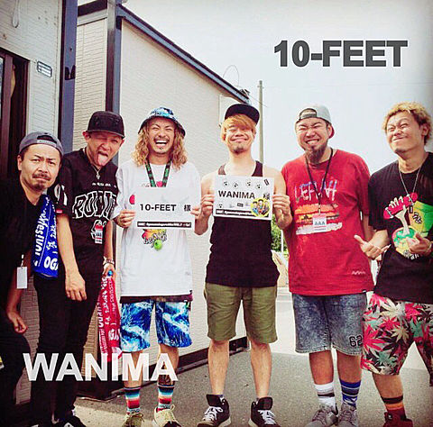 10-FEET WANIMAの画像 プリ画像