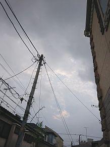 曇り☁*°空 プリ画像